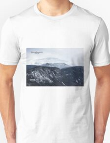 Looking towards Mt. Lafayette from Cannon Mountain - Franconia, NH 01-11-15 T-Shirt