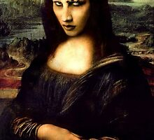 Marilyn Manson/Mona Lisa by Lutubert