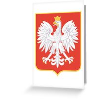 Coat of Arms of the Second Polish Republic, 1927-1939 Greeting Card
