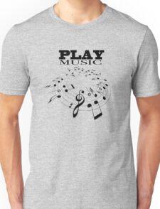 PLAY MUSIC Unisex T-Shirt