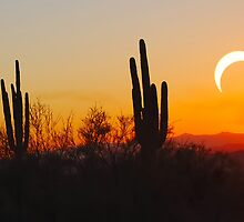 Partial Annular Eclipse from Cave Creek, Arizona 2012 - II by HDTaylor