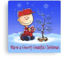 charlie brown Christmas  Canvas Print