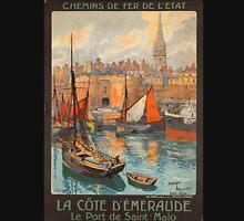 Vintage poster - France Unisex T-Shirt