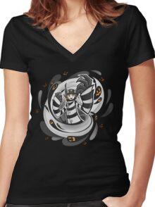 TWERK ZONE Women's Fitted V-Neck T-Shirt
