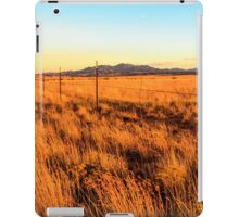 Barbed Wire Fence New Mexico iPad Case/Skin