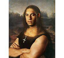 Vin Diesel/Mona Lisa Photographic Print