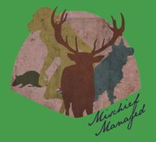 The Marauders - Mischief Managed One Piece - Short Sleeve
