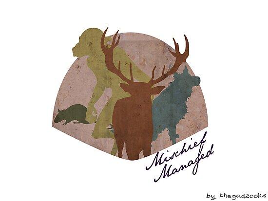 The Marauders - Mischief Managed by thegadzooks