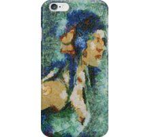 Blue Nila iPhone Case/Skin