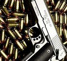 .45 with Bullets by TinaGraphics