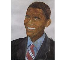 Obama at Inauguration Photographic Print
