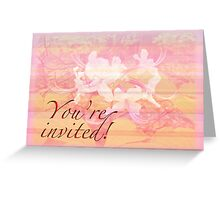 Party Invitation - General - Wild Azalea Blossoms Greeting Card