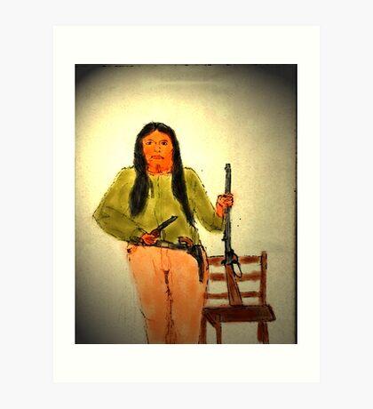 INDIAN TERRITORY Art Print