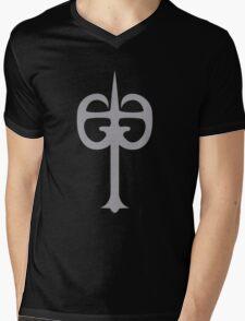 Tarkus Shield Mens V-Neck T-Shirt