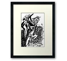 022 Framed Print