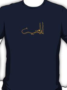 Smaug the Dragon - Gold T-Shirt