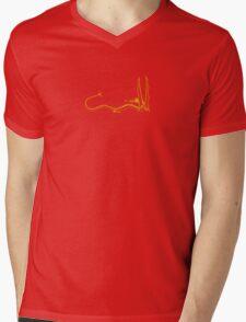 Smaug the Dragon - Gold Mens V-Neck T-Shirt