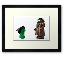 You're a lizard Harry Framed Print