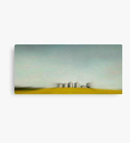 Silos of Alberta Canvas Print