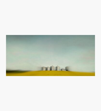 Silos of Alberta Photographic Print