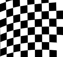 Checkered Flag by TinaGraphics