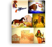 THE WILD, WILD WEST Canvas Print
