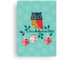 Whoo-Hoo It's Christmas! Canvas Print