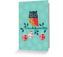 Whoo-Hoo It's Christmas! Greeting Card