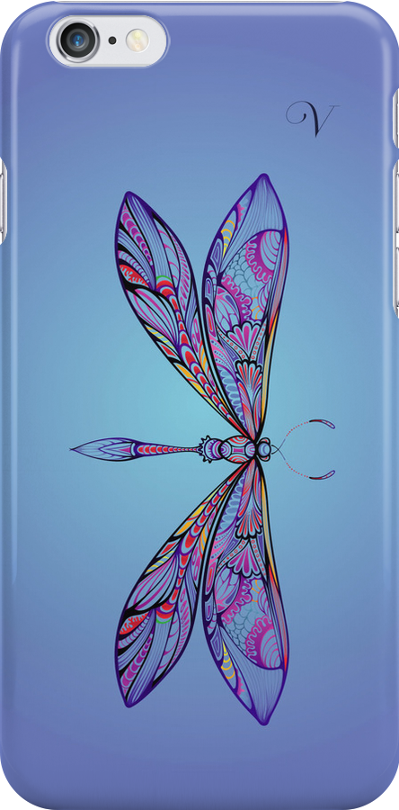 dragonfly for V by sabrina card