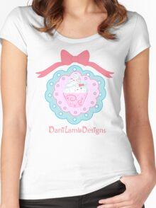 Kawaii Cupcake Women's Fitted Scoop T-Shirt