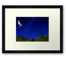 Night Flyer Framed Print