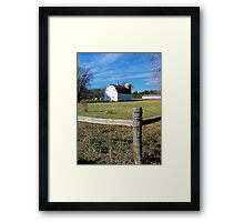 Country Acreage Framed Print