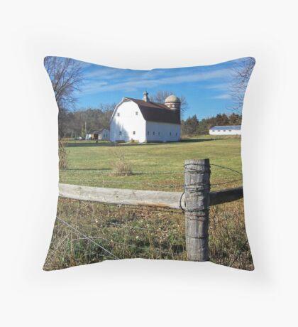 Country Acreage Throw Pillow