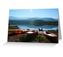 Sun shines on the righteous Greeting Card