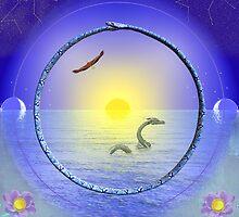 Amethyst Mandala by Christopher Lynch