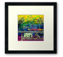 Freedom to Believe - Freedom to LIVE Framed Print