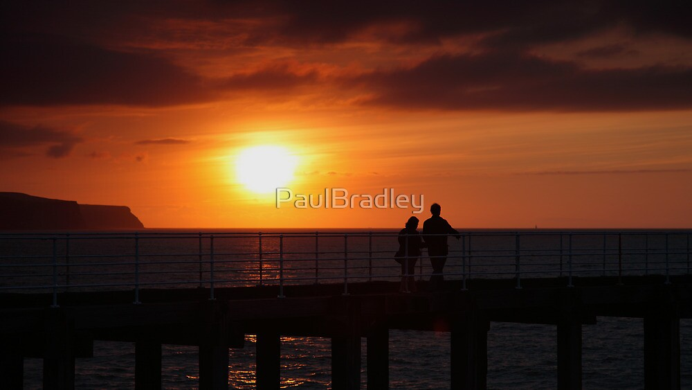 Whitby Sunset (3) by PaulBradley