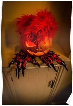 Devil Pumpkin, He's Real! by digihill