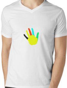 stop Mens V-Neck T-Shirt