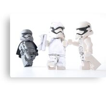 Look at me I'm Captain Phasma... She's behind me isn't she? Canvas Print