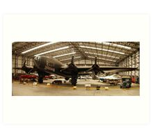HP Halifax Bomber @ YAM Art Print