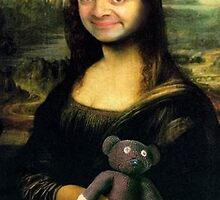 Mr Bean/Mona Lisa by Lutubert