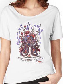 Snail Ride Women's Relaxed Fit T-Shirt