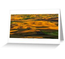 Palouse Shadow Play Greeting Card