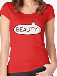Australian Slang-Beauty Women's Fitted Scoop T-Shirt
