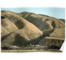 Wairarapa river valley NZ 19640323 0019 Poster