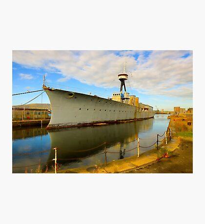 HMS Caroline Photographic Print
