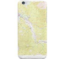 USGS Topo Map Washington State WA Raymond 243381 1955 62500 iPhone Case/Skin