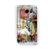 Happy Holidays Samsung Galaxy Case/Skin