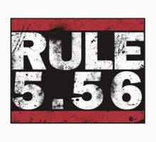 Rule 5.56 (Decal) by five5six